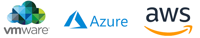Technology that works with VMWare, Azure and AWS