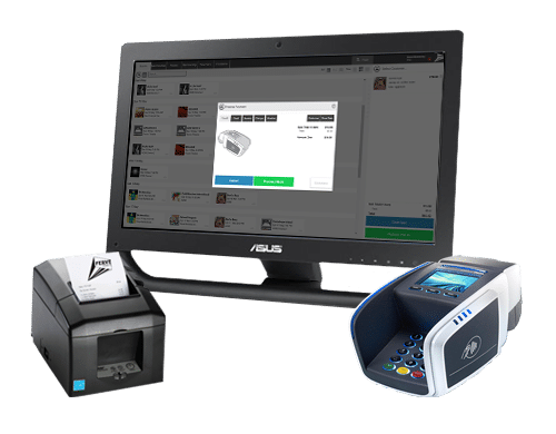 Ferve POS system with printer and Integrated Tyro EFTPOS