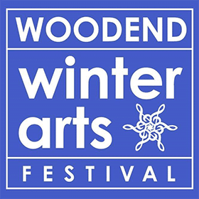 Woodend Winter Arts Festival logo
