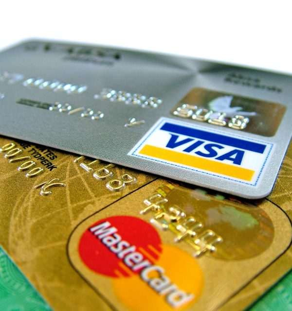 Visa, MasterCard and other credit cards